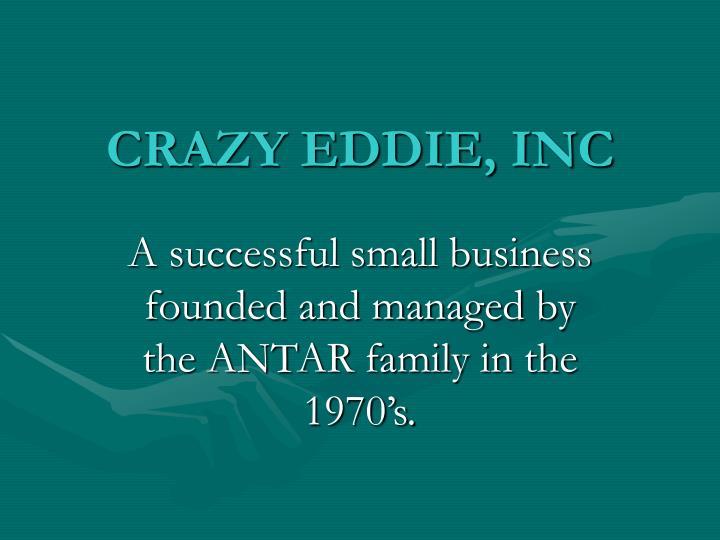 CRAZY EDDIE, INC