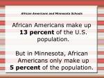 african americans and minnesota schools1