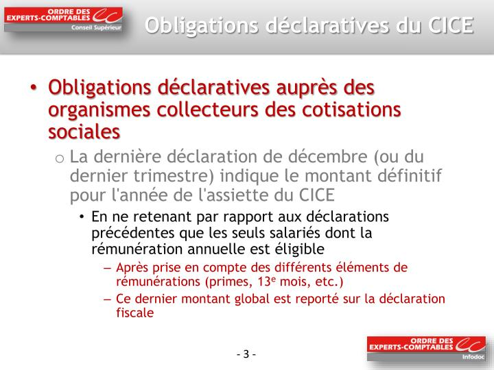 Obligations d claratives du cice1