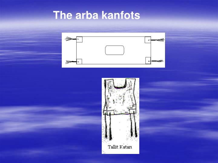 The arba kanfots
