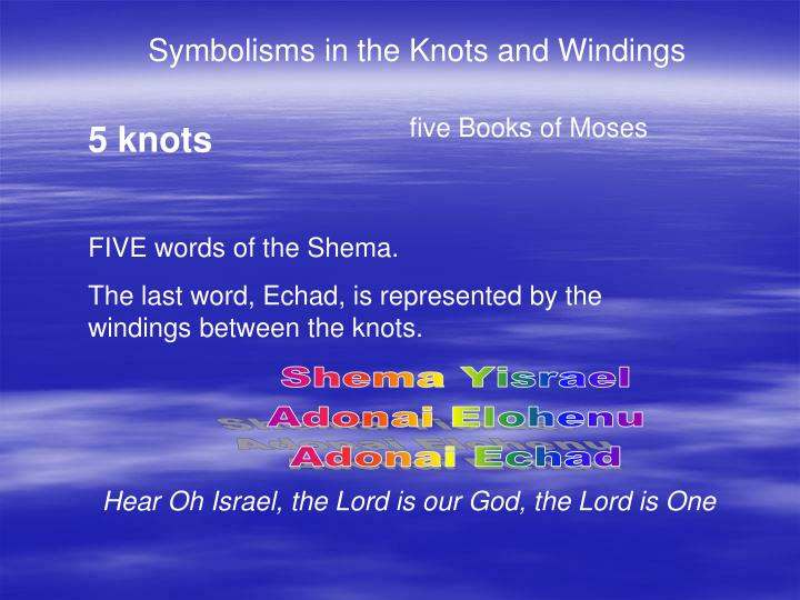 Symbolisms in the Knots and Windings