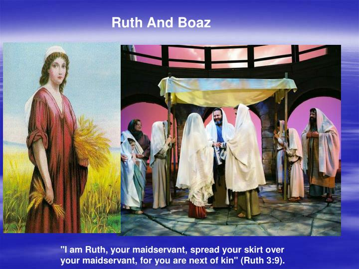 Ruth And Boaz