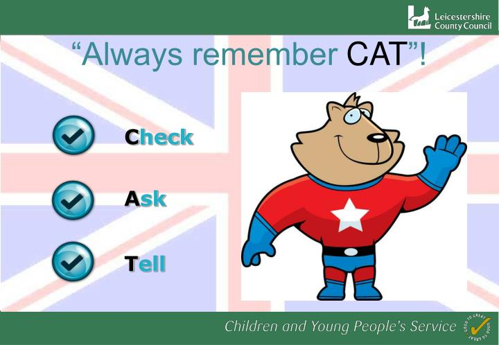 """Always remember"