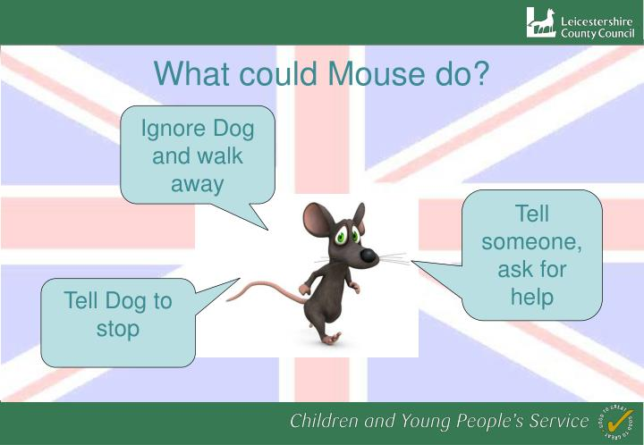 What could Mouse do?