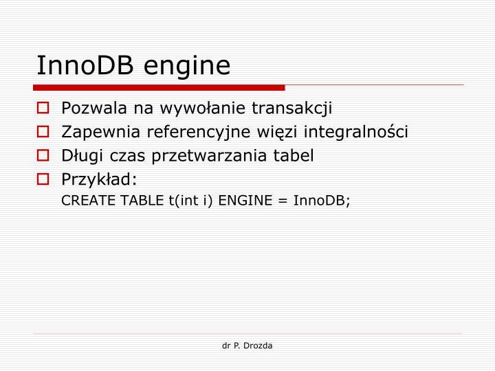 InnoDB engine