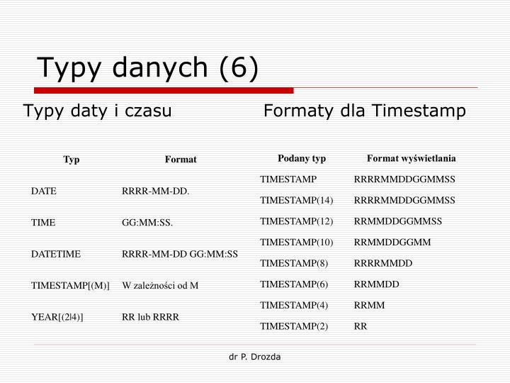 Typy danych (6)