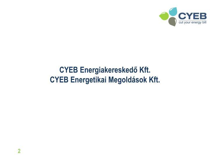 CYEB Energiakereskedő Kft.
