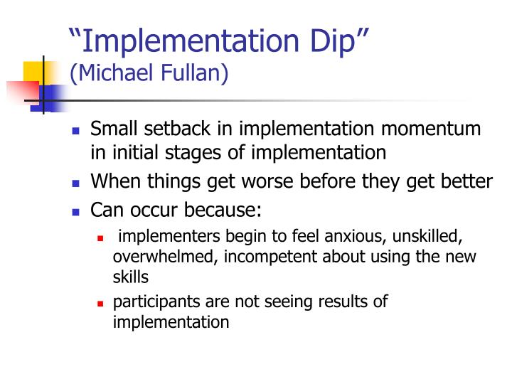 """Implementation Dip"""
