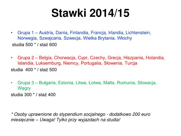 Stawki