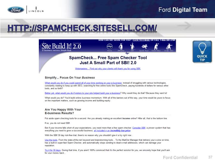 http://spamcheck.sitesell.com/