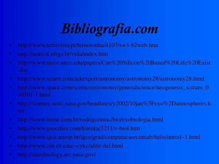 Bibliografia.com