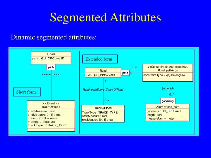 Segmented Attributes