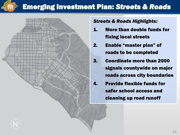 Emerging Investment Plan: