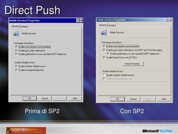 Direct Push