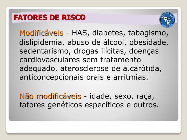 FATORES DE RISCO