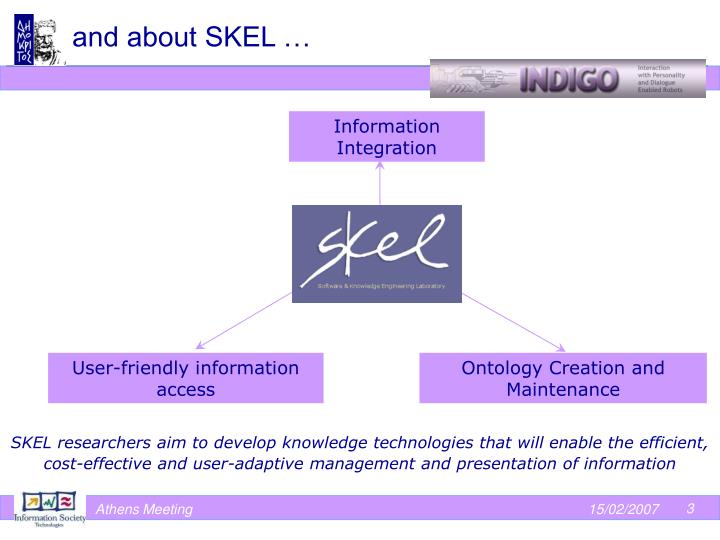 and about SKEL …
