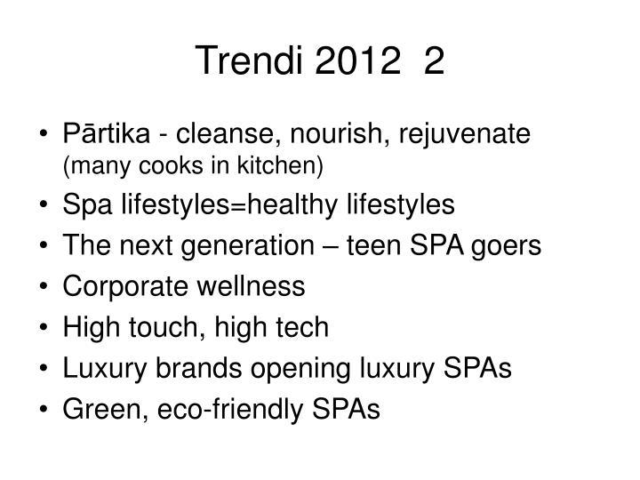 Trendi 2012  2