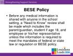 bese policy7