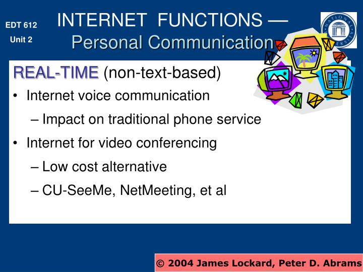 INTERNET  FUNCTIONS