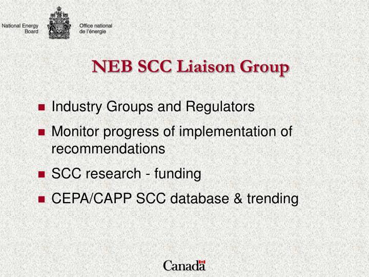 NEB SCC Liaison Group