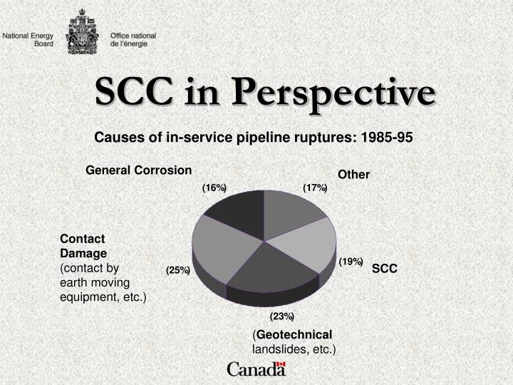 SCC in Perspective
