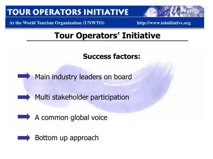 Tour Operators' Initiative