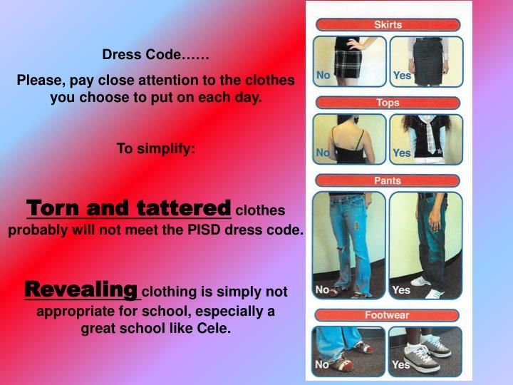 Dress Code……