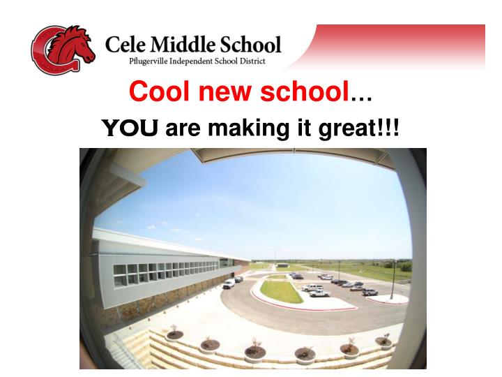 Cool new school