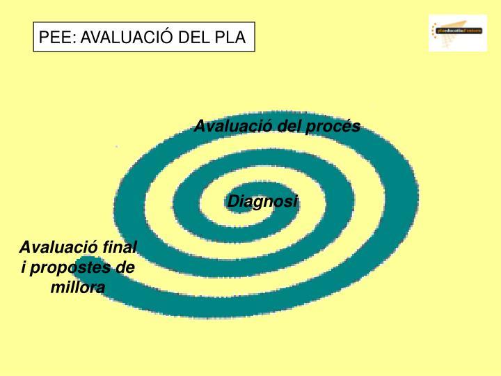 PEE: AVALUACIÓ DEL PLA
