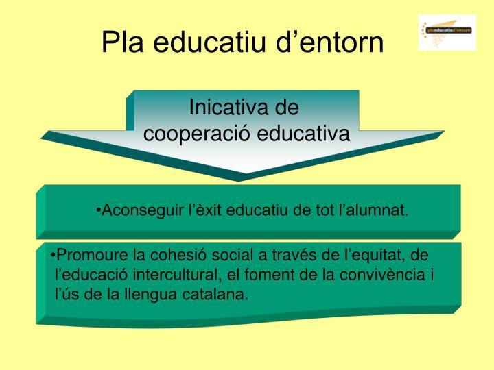 Pla educatiu d'entorn