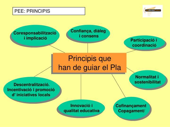 PEE: PRINCIPIS