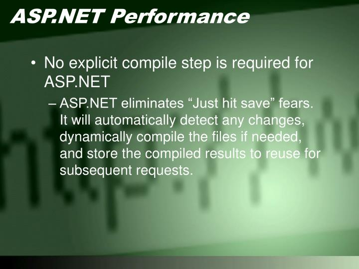 ASP.NET Performance