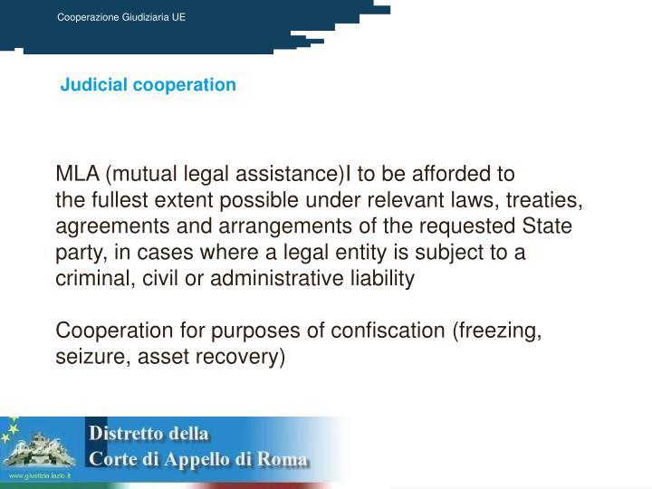 Judicial cooperation