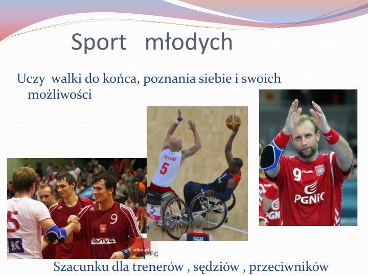 Sport   młodych