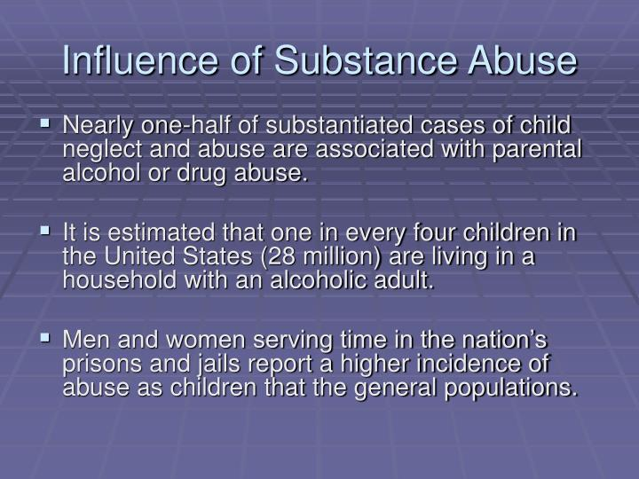 Influence of Substance Abuse