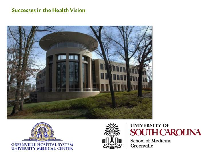 Successes in the Health Vision