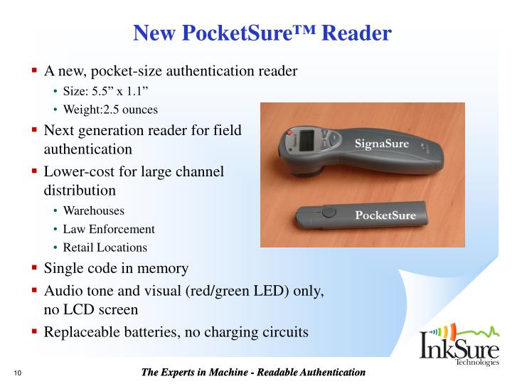 New PocketSure