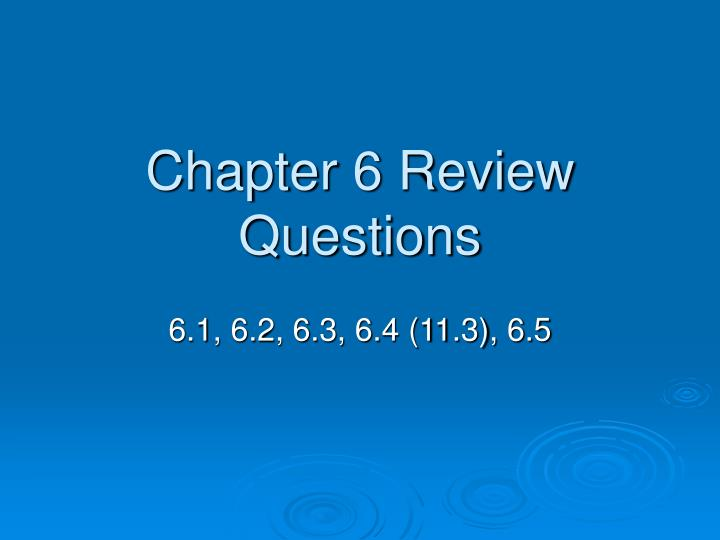 2 06 review questions Review questions 1 god 2 father, son, and spirit 3 time is a unit of measurement in the created realm that we use to note the sequence or duration of events.