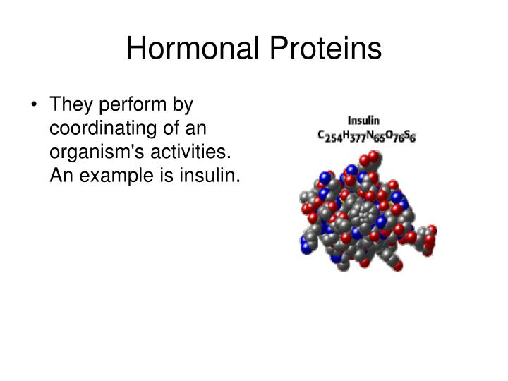 Hormonal Proteins