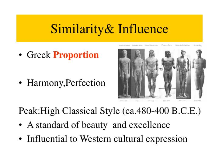 Similarity& Influence