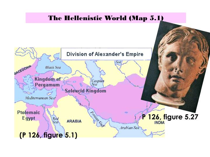 The Hellenistic World (Map 5.1)