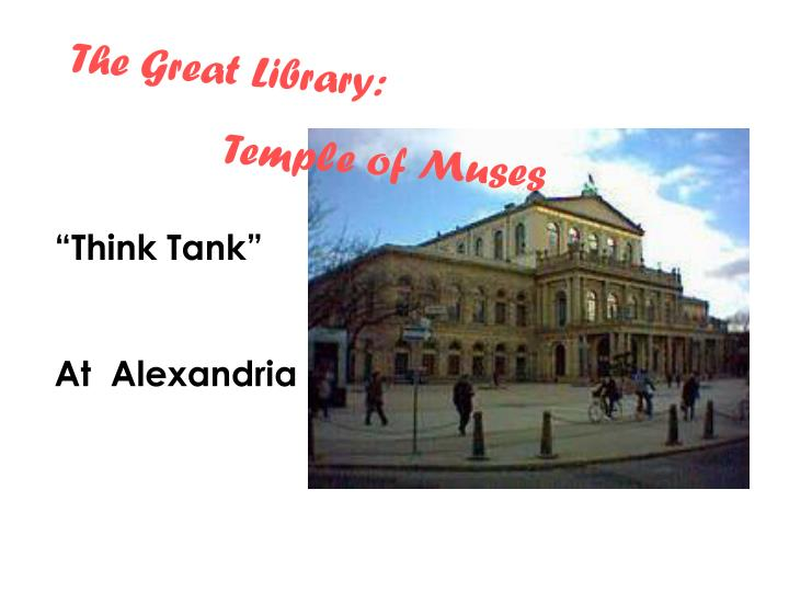 The Great Library: