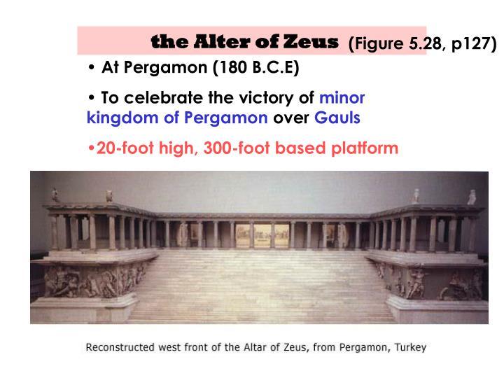 the Alter of Zeus