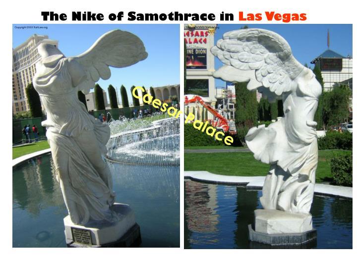 The Nike of Samothrace in
