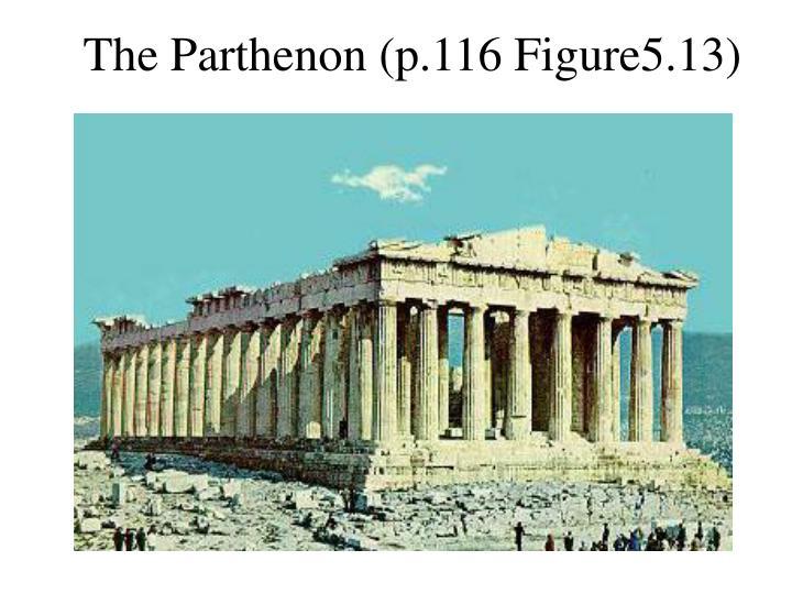The Parthenon (p.116 Figure5.13)