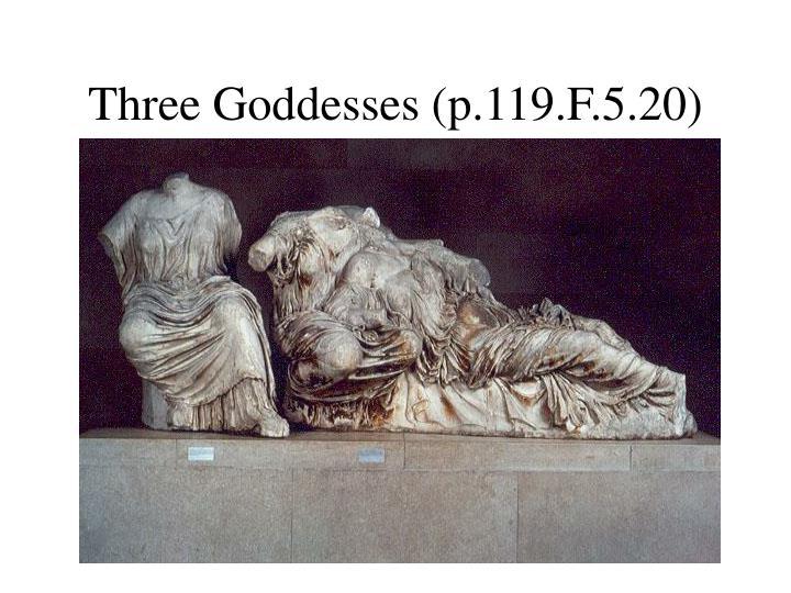 Three Goddesses (p.119.F.5.20)