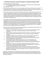 preliminary proposal for a doctoral program in leadership studies at cbu