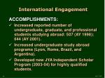 international engagement1