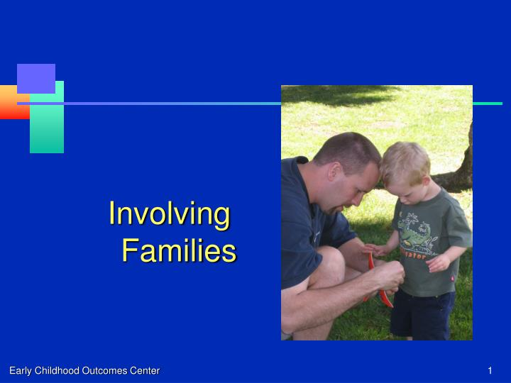 Involving Families