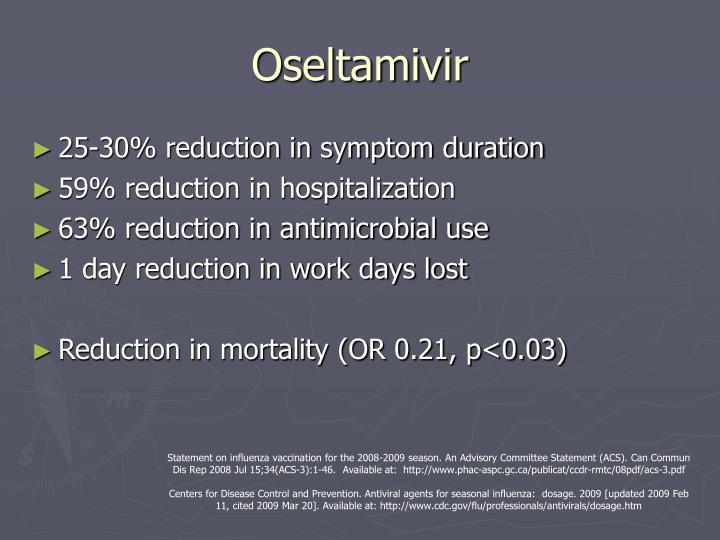Oseltamivir